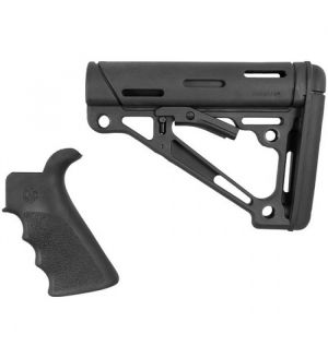 Hogue STOCK KIT AR15 M16 BLK RUBBER COMM TUBE