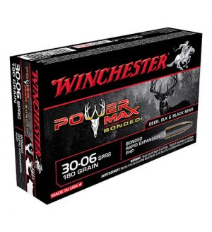Winchester AMMO 30-06 POWER MAX 180GR   20/10