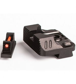 ZEV Technologies SIGHT SET .215 FIBER V3 BLACK REAR
