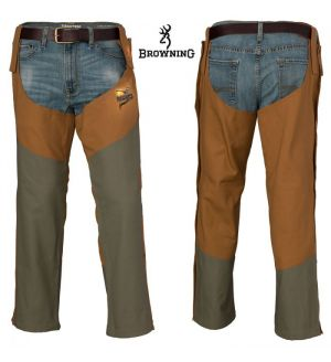Browning Pheasants Forever Upland Chaps (M)- Field Tan