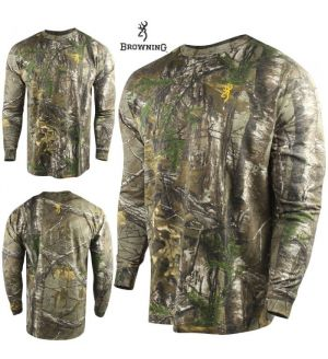 Browning Wasatch Long Sleeve Shirt (S)- RTX