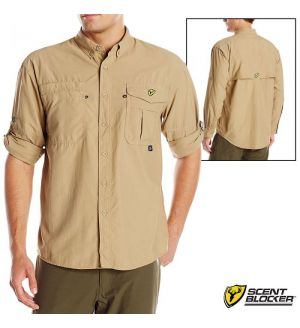 Scent Blocker Recon Outfitter L/S Shirt (M)- Ivory