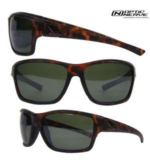 Optic Nerve One Reeftip Polarized Sunglasses- Dark Demi/Smoke