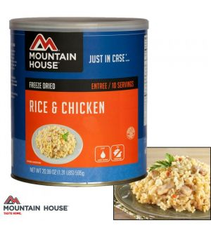 Mountain House Rice & Chicken (#10 Can)