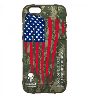 Home_of_the_Free_Because_of_the_Brave_US_Subdued_Waving_Wounded_Flag_Phone_Case
