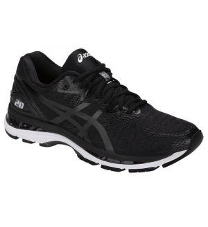 ASICS_Mens_GEL_Nimbus_20_Black_White_Carbon_Running_Shoe