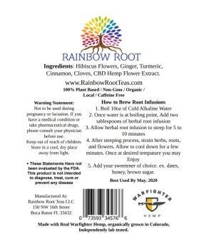 HEMP CLASSIC RAINBOW ROOT HEMP TEA