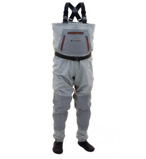 HELLBENDER STOCKINGFOOT CHEST WADERS STOUT - 2XL