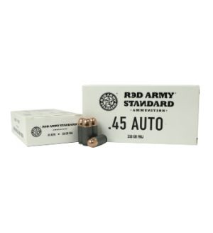 Century Arms Red Army Standard AM3262 Red Army Standard 45 ACP 230 gr Full Metal Jacket (FMJ) 50 Bx