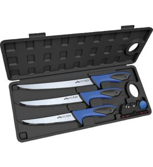 Outdoor Edge Reel-Flex Pak Fillet Knife Set with Hard Case - RFP-6
