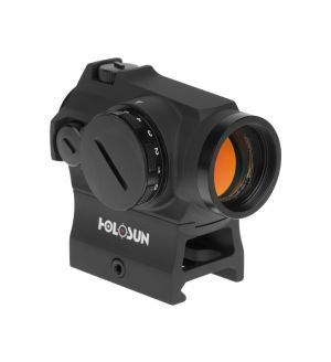 Holosun HS403R Rheo Stat Dial Micro Red Dot Sight 1x 2 MOA Dot Picatinny-Style Low & Lower 1/3 Co-Witness Mount Matte