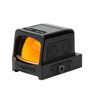 Holosun HE509T Elite Reflex Sight 1x Selectable Red Reticle Picatinny-Style Mount Solar/Battery Powered Titanium Matte