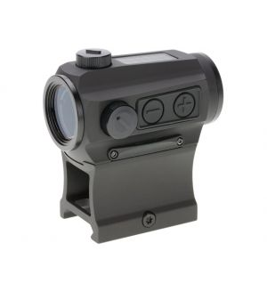 Holosun HE403C-GR Elite Green Dot Sight 1x 2 MOA Dot Night Vision Compatible Picatinny-Style Low and Lower 1/3 Co-Witness Mounts Matte