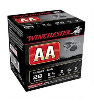 Winchester 12G AA Plus 3DR 1 1/8 oz #9 2.75 heavy target load