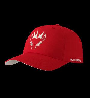 Blazing Bull Hat - Red