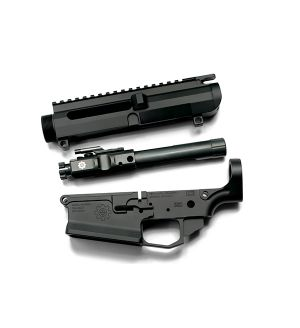 NLX308 Left Hand Upper/Ambi Lower Receiver Combo with BCG