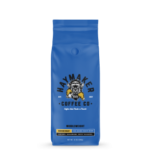 Haymaker Coffee Middleweight Medium Roast Whole Bean