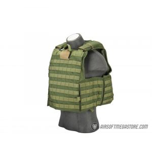 Flyye Industries 1000D Maritime Force Recon Vest [LRG] - OD GREEN