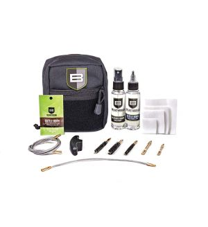 Breakthough Clean Technologies QWIC-MIL Pull Through Cleaning Kit (223cal / 30cal / 9mm) - Black
