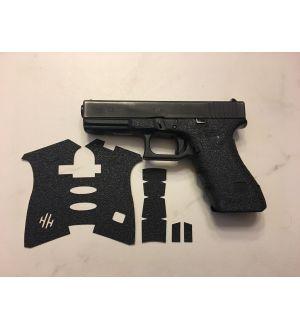 Handleitgrips Textured Rubber Gun Grips for Glock 17/22/34/35 Gen 3