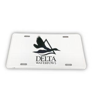 Delta Waterfowl License Plate
