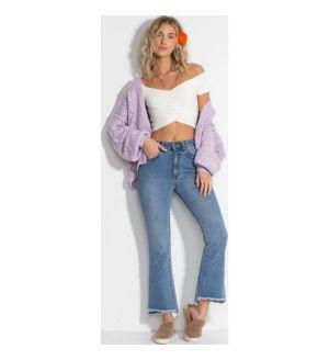 Cheeky Straight Leg Jeans - INDIGO / 25