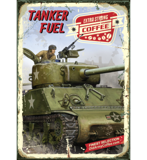 Tanker Fuel Old Army Coffee