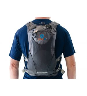 ExtremeMist: Misting and Drinking Hydration Backpack  (Adjustable Large-4XL) (Gray)
