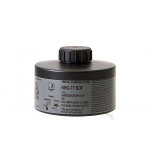 CBRN Gas Mask Filter NBC-77 SOF 40mm Thread - 20 Year Shelf Life