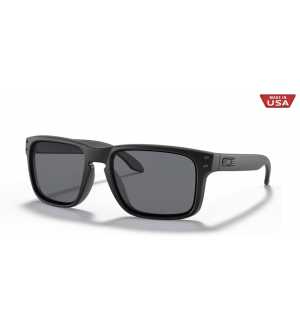 Oakley SI Holbrook Sunglasses - Matte Black Frame with Grey Lens
