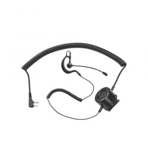 Midland TH2 Tactical Action Boom Mic with PTT