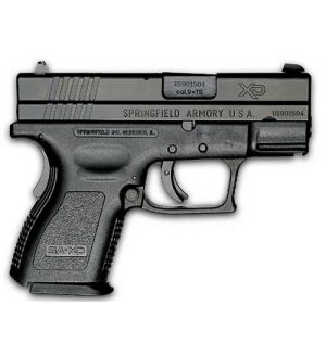 XD SUB-COMPACT 9MM BLK 10+1