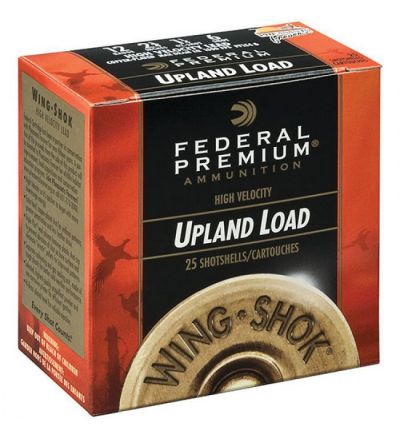 Federal WING-SHOK HV 12GA 2.75 1.25OZ #4 25/10