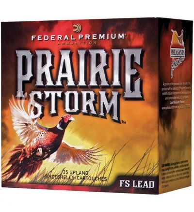 Federal PRAIRIE STORM LEAD 12GA 2.75 1.25OZ 25/10