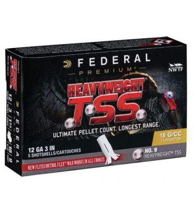 Federal HEAVYWEIGHT TSS 12GA 3 1.75OZ 9 TKY 5/10