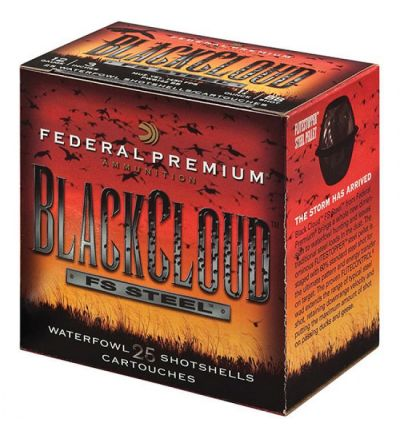 Federal BLACK CLOUD FS STEEL 12GA 3.5 1.5OZ #BBB (10