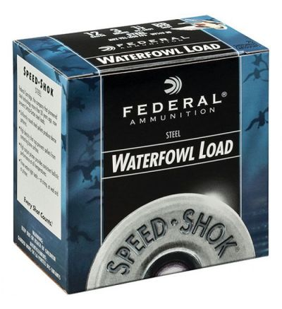 Federal SPEED-SHOK 12GA 3 1-1/8OZ #T 25/10