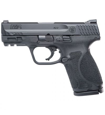SW M&P9 COMPACT M2.0 9MM 3.6 BLK 10RD NTS
