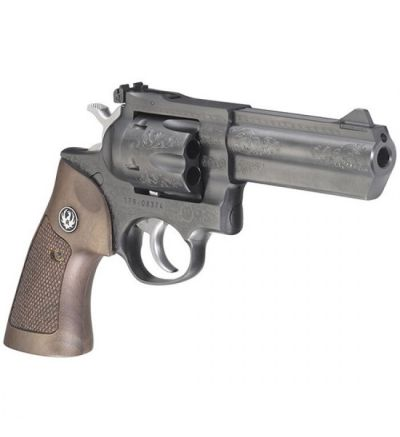 Talo GP100 DELUXE 357MAG 4 BLUED ENGRAVED