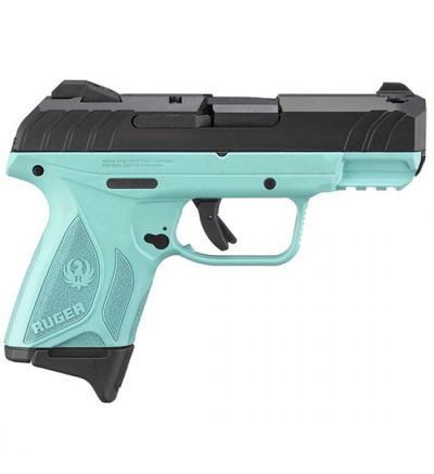 Talo SECURITY 9 COMPACT 9MM TURQUOISE FRAME