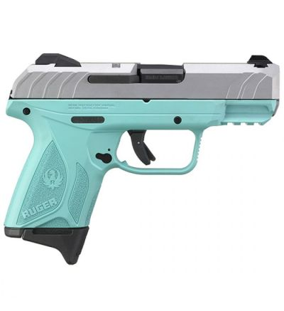 Talo SECURITY 9 COMPACT 9MM TURQUOISE SILVER