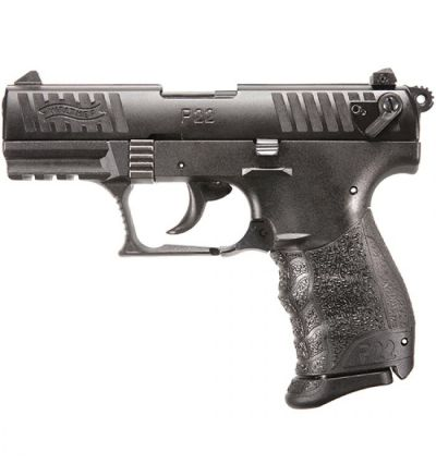 Walther Arms P22Q 22LR BLK 10RD