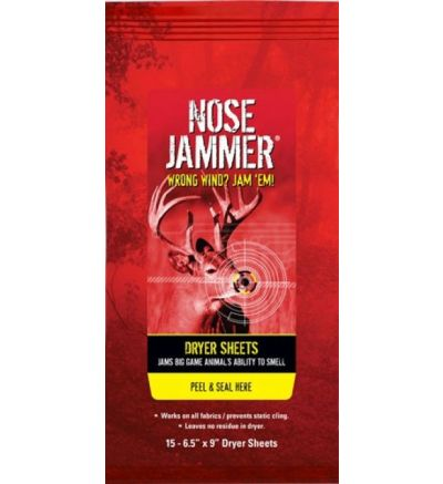 NOSE JAMMER DRYER SHEETS W/