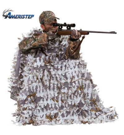 Ameristep Snow Hunter 3D Chair & Cover System- RTSNW