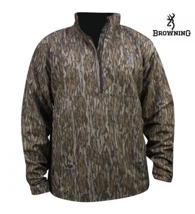 Browning Wicked Wing 1/4 Zip Performance LtWt Jkt (L)- MOBL