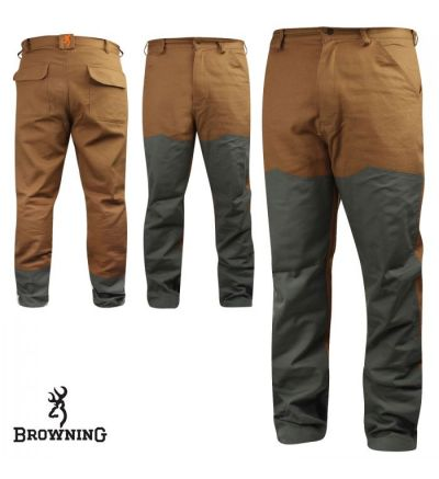 Browning Canvas Upland Pants (36x32)- Field Tan