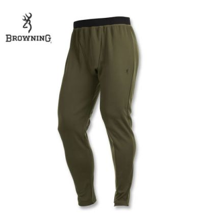 Browning Full Curl Merino Base Layer Pants (3X)- Loden