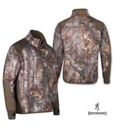 Browning Hell's Canyon Perf. Fleece 1/4 Zip Jacket (L)- RTX