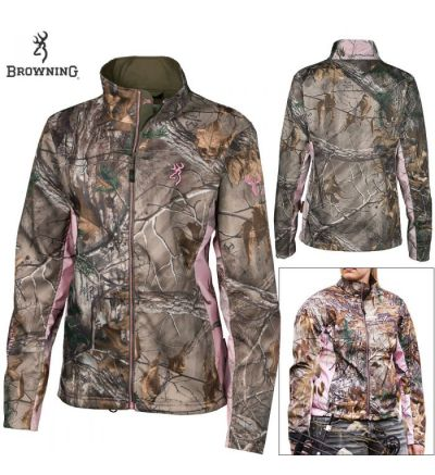 Browning Wmns Hell's Belles Ultra-Lite Jacket (XL)- RTX