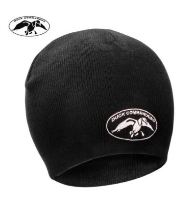 Duck Commander Beanie- Black